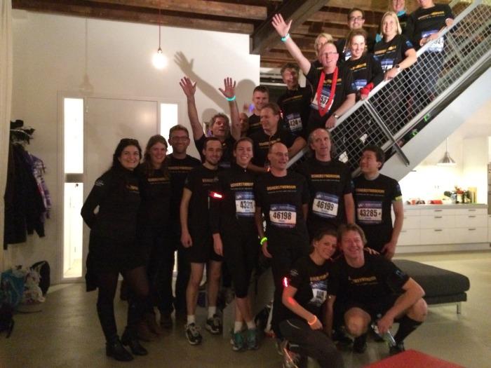 Teamfoto 7Heuvelennacht Ushersydnroom.nl