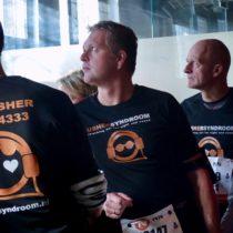 Nieuwe shirts voor stichting Ushersyndroom