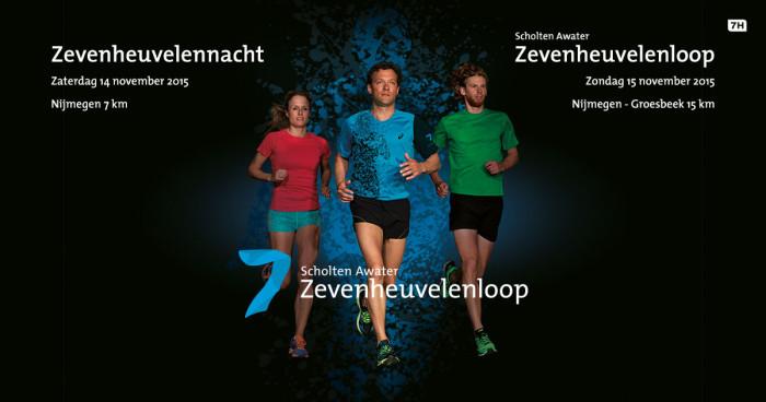 Groot Run4Usher-team rent de Zevenheuvelenloop
