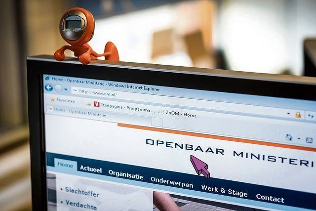 Computerscherm van Annouk van Nunen