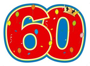60 jaar Jaap wordt 60 jaar! 60 jaar