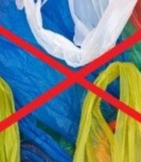 Plastic tasjes actie van slager Bas Bekooij