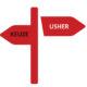 Usher en keuzes